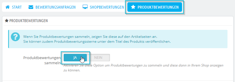 ProductReviewsActivate