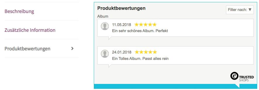 Produktbewertungstab_Frontend