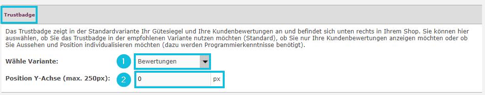 Trustbadge_konfigurieren