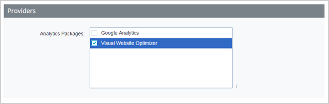 Choose Analytics field. Here you can insert the Trustbadge code!