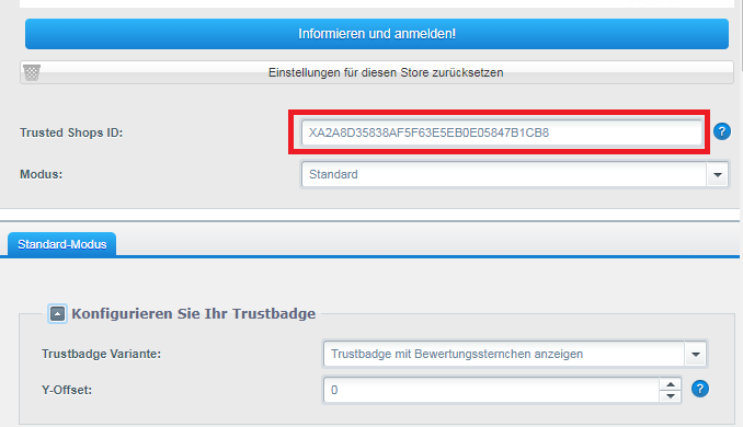 Trusted Shops Trustbadge® mit Shopware integrieren