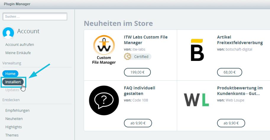 Plugins_Installiert